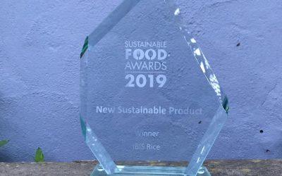 IBIS Rice wins Award at Ecovia Sustainable Food Summit