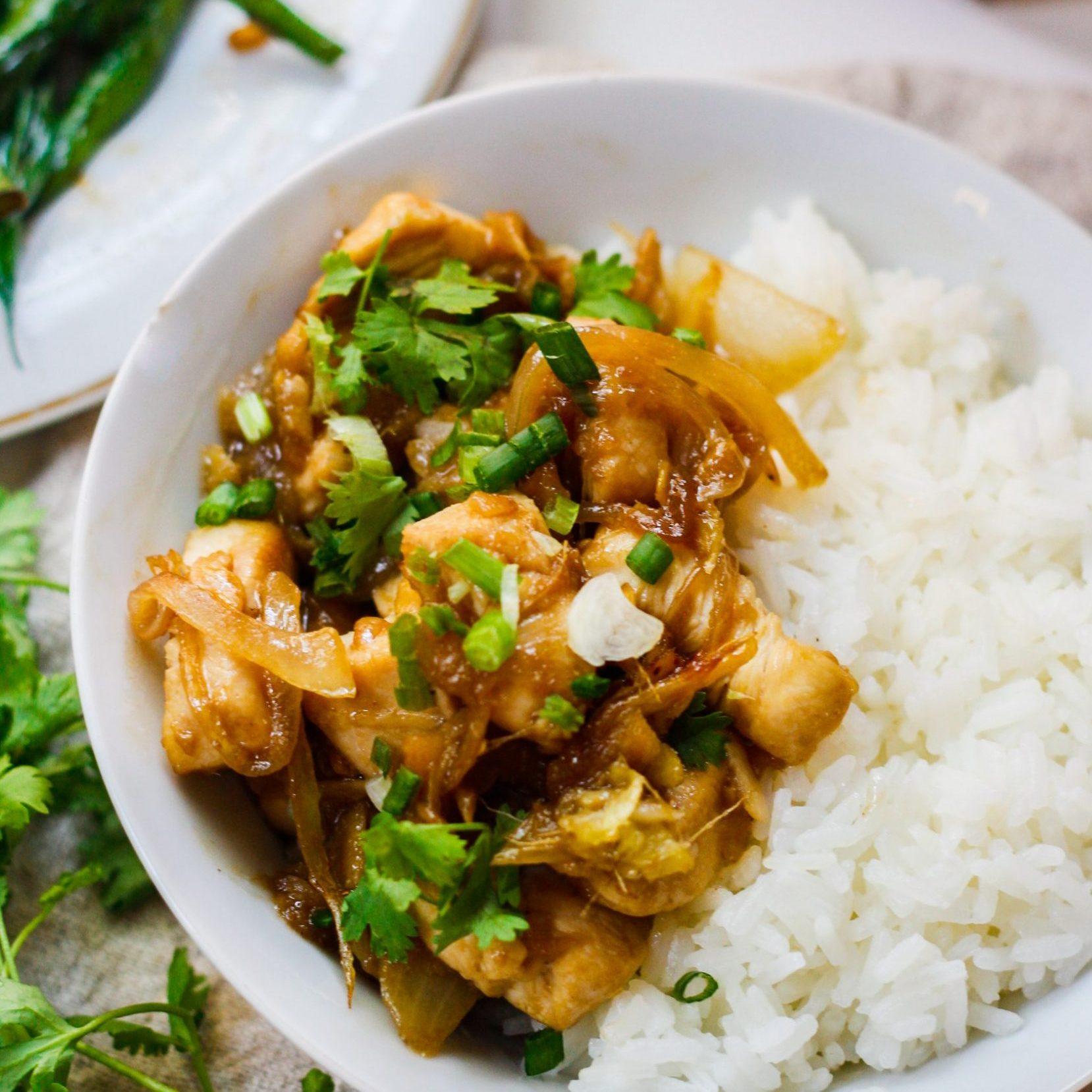 Khmer Ginger Chicken