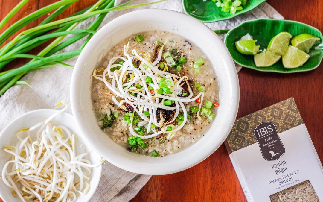 Vegan Borbor (Cambodian Rice Porridge)
