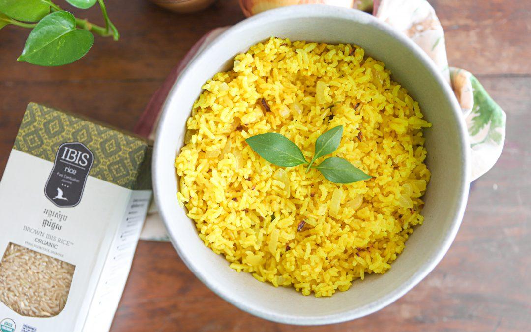 Coconut & Turmeric Brown Rice